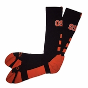 Oregon State Beavers Twin City&reg Perimeter Socks - Black