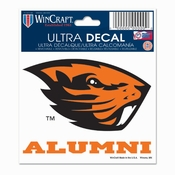 Oregon State Beavers WinCraft 3x4 Alumni Ultra Decal