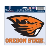 Oregon State Beavers WinCraft 3x4 Beaver Ultra Decal - Orange