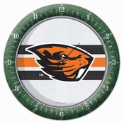 Oregon State Beavers WinCraft Logo Wall Clock