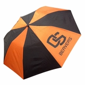 Oregon State Beavers WinCraft OS Golf Umbrella - Orange/Black