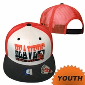 Oregon State Beavers Youth Beavers Guardian Mesh Snapback Hat - White/Orange