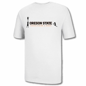 Oregon State Beavers Ouray Cheerleading & Dance Tee - White