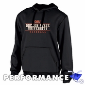 Oregon State Beavers Ouray OSU Baseball Performance Hoody - Black
