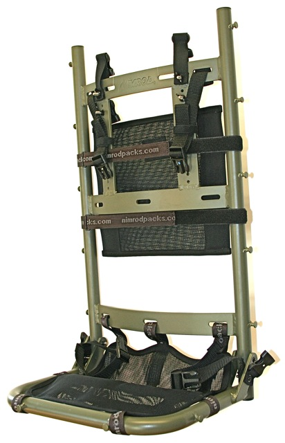 hunting platform frame and suspension external frame packs bags