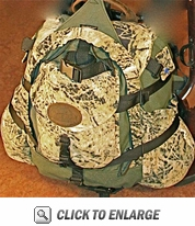 MAX ATTACK BUGLE BAG, adds to Nimrod pack system
