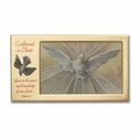 "Confirmation Metal Photo Frame Holds 4"" x 6"" Photo"