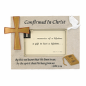 """Confirmation Resin Picture Frame for 4"""" x 6""""  Photo"""