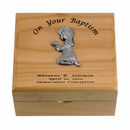 Maple Wood Personalized Baptism Gifts