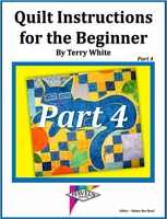 """Download """"Quilt Instructions for the Beginner Part 4"""""""