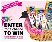 Havel's Sewing Sweepstakes<br> and Giveaway