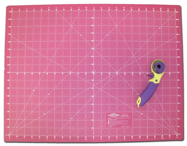 Rotary Cutter And Mat Drawing 45mm Rotary Cutter And Cutting