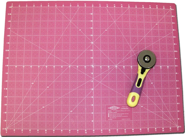 Rotary Cutter And Mat Drawing 60mm Rotary Cutter And Cutting