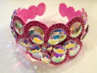 AB AND PINK LIGHT WEIGHT CROWN