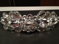 CLEAR SWAROVSKI RHINESTONE CROWN