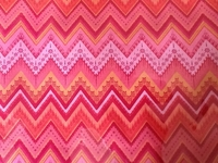 ORANGE/PINK CHEVRON