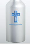 1st Communion Favors Metal Water Bottles