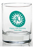 40 Birthday Party Favors Shot Glass