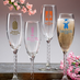 40th Anniversary Favors Champagne Glass