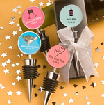 40th Birthday Bottle Stopper Favor