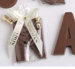 40th Birthday Chocolate Initial Party Favors