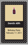 40th Birthday Favors Playing Cards