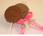 40th Birthday Party Favors Chocolate Pop