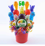 50th Birthday Centerpieces for Party