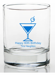 60 Birthday Party Favors Shot Glass