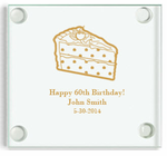 60th Birthday Coasters