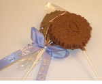 60th Birthday Favor Chocolate Pops