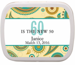 "60th Birthday Party Favors - ""The New 50""  Mints"
