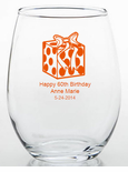 60th Party Trinket Holders