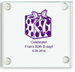 80th Birthday Coasters