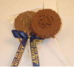 80th Birthday Party Favors Chocolate Pop