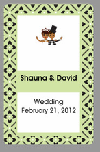 African American Wedding Favors