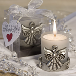 Angel Candle Holder Baptism Favors
