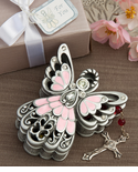 Angel Trinket Box Pink
