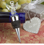 Angels Favors for Baptism Party Bottle Stopper
