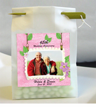 Anniversary 2 Photo Personalized Favor Bags