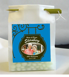 Anniversary 3 Photo Personalized Favor Bags