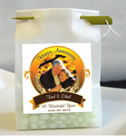 Anniversary Photo Personalized Favor Bags