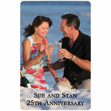 Anniversary Playing Cards - Photo