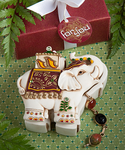 Asian Theme Wedding Elephant Keepsake Box