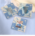 Baby Boy Glass Photo Coasters - Set of 2