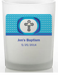 Baptism Candles for Boys