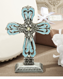 Baptism Cross Blue