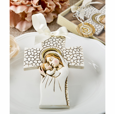 Baptism Cross Ornaments