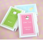 Baptism Custom Notebook Favors