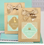 Baptism Favor Bags Candy Boxes- Set of 12
